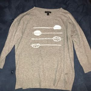 Jcrew arrow sweater